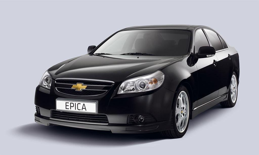 Chevrolet Epica Tyyppiviat