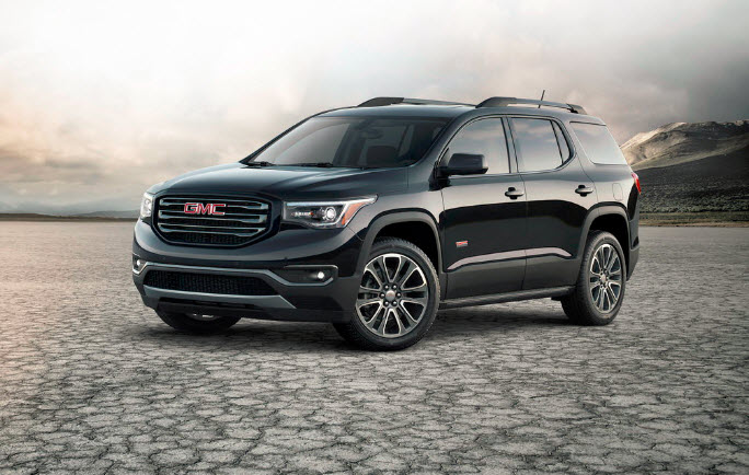 GMC Acadia 2017 fotos