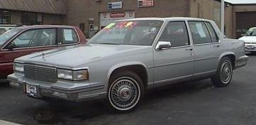Cadillac Deville 1988 foto - 2
