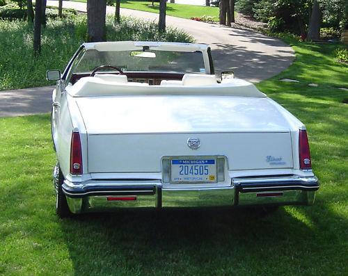 Cadillac Eldorado 1982 foto - 3