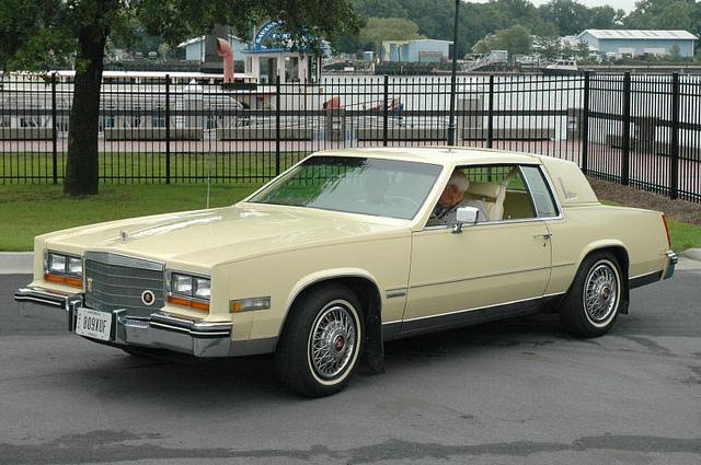 Cadillac Eldorado 1982 foto - 4