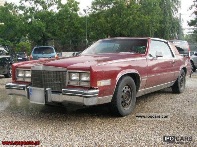 Cadillac Eldorado 1983 foto - 3