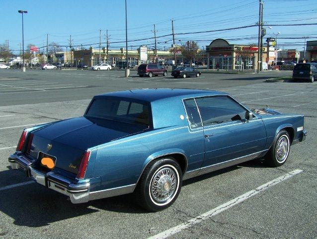 Cadillac Eldorado 1985 foto - 1