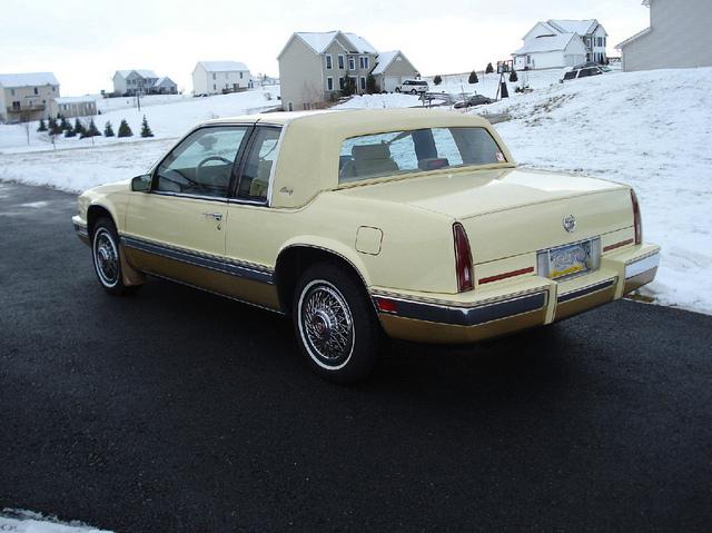 Cadillac Eldorado 1986 foto - 5