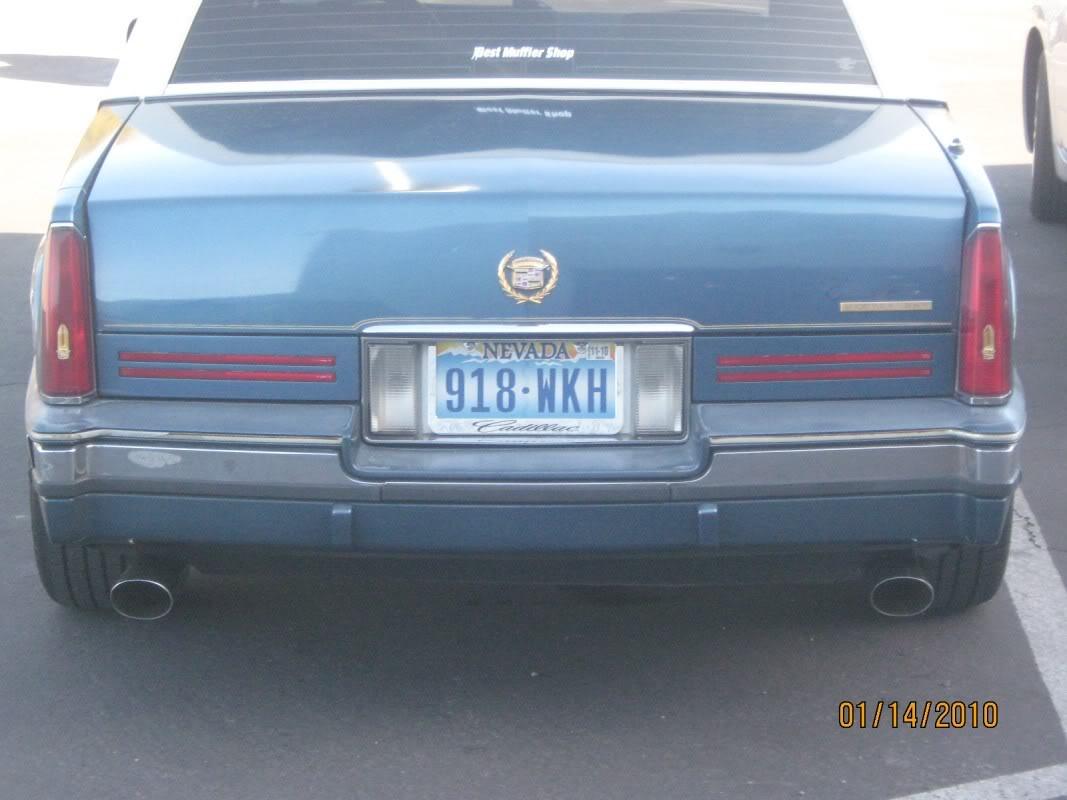 Cadillac Eldorado 1991 foto - 3