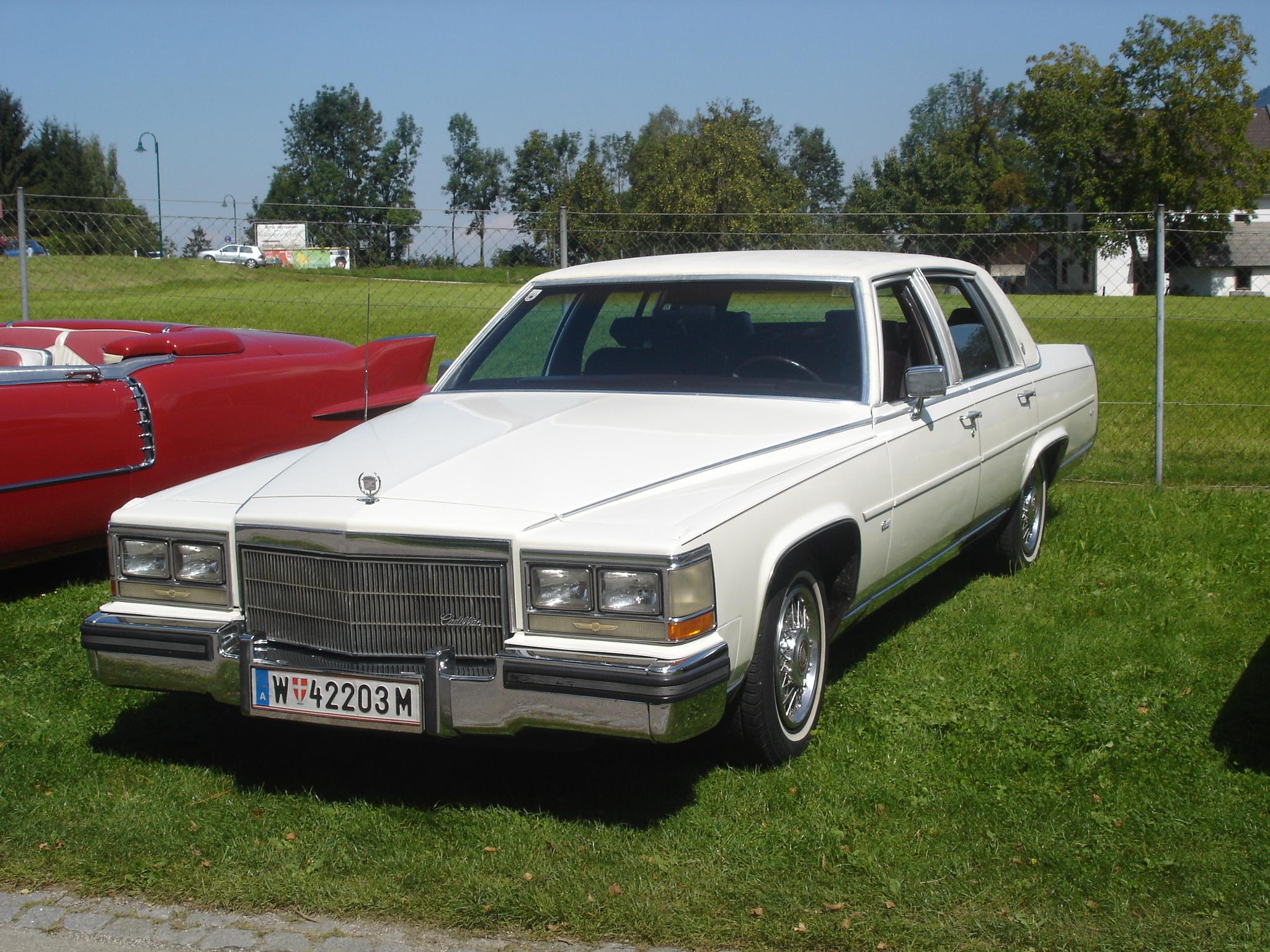 Cadillac Fleetwood 1980 foto - 1
