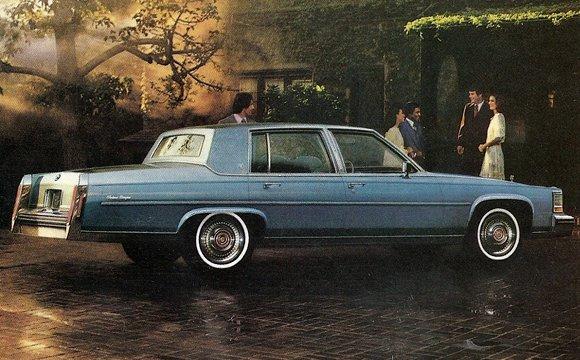 Cadillac Fleetwood 1980 foto - 6