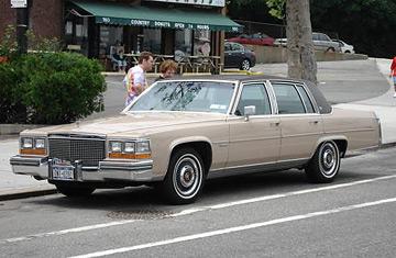 Cadillac Fleetwood 1990 foto - 5