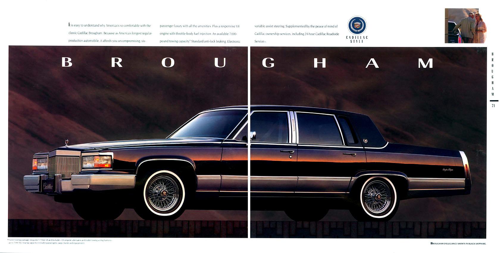 Cadillac Fleetwood 1992 foto - 2
