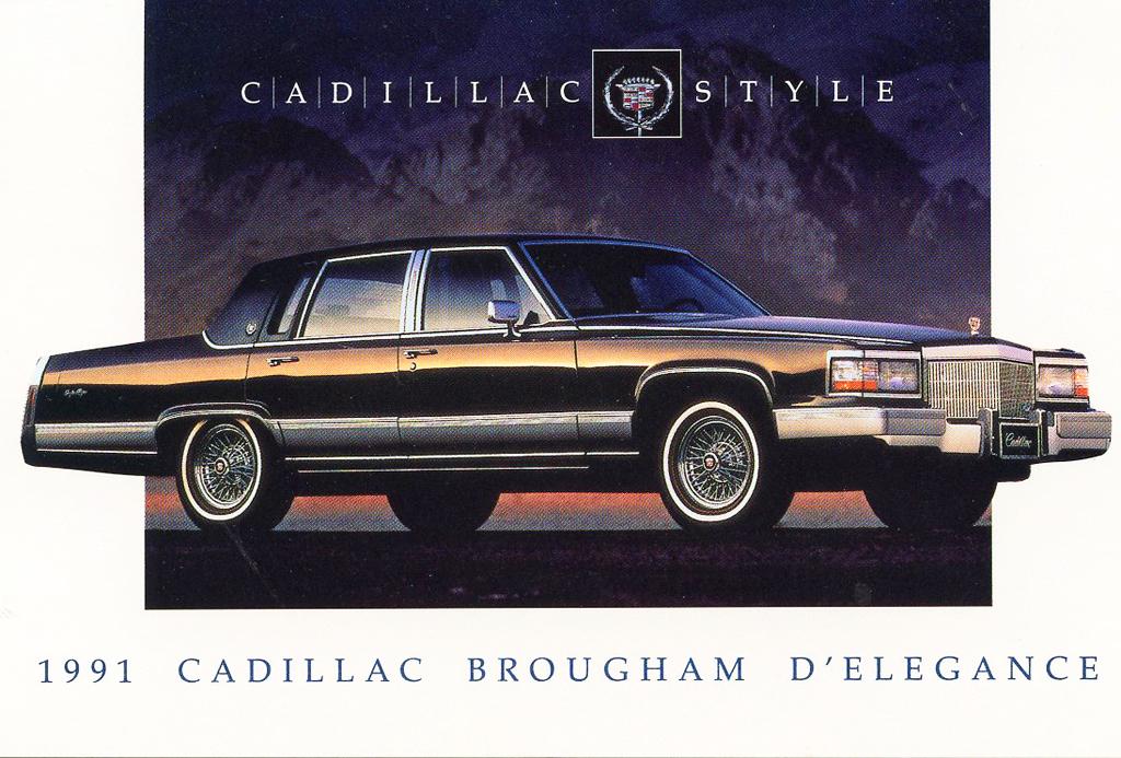 Cadillac Fleetwood 1992 foto - 4