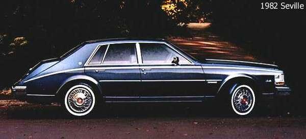 Cadillac Seville 1982 foto - 2