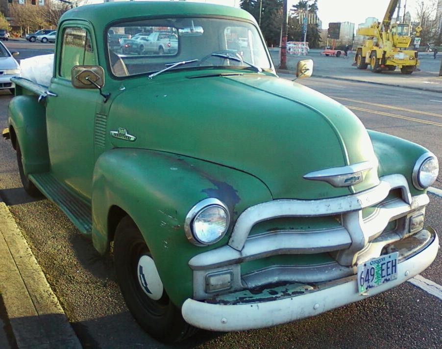 Chevrolet 3100 1954 foto - 1