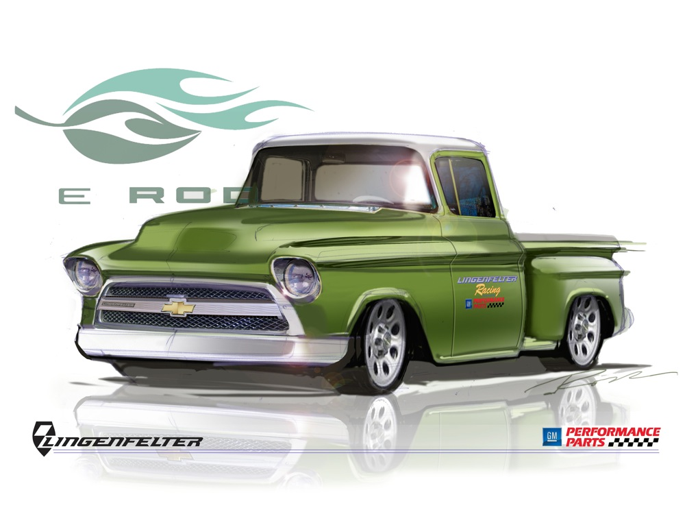 Chevrolet 3100 1955 foto - 2
