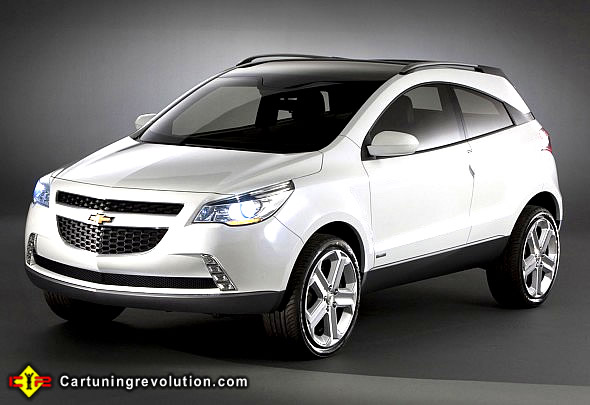 Chevrolet Agile 2008 foto - 3