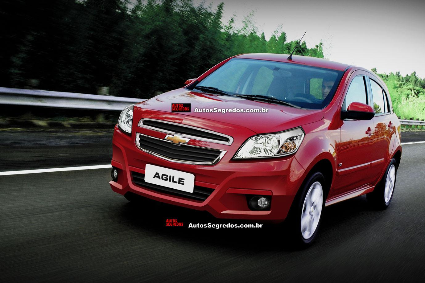 Chevrolet Agile 2013 foto - 1
