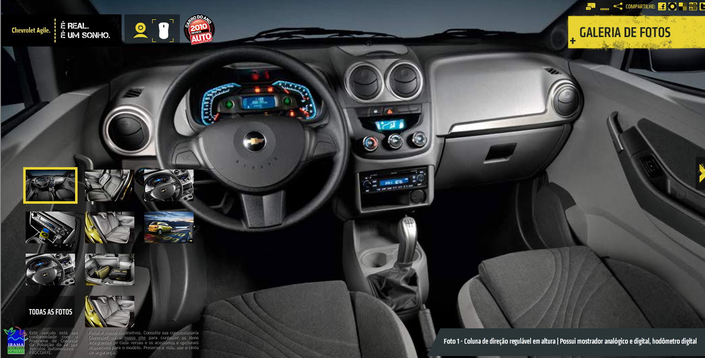Chevrolet Agile 2015 foto - 2