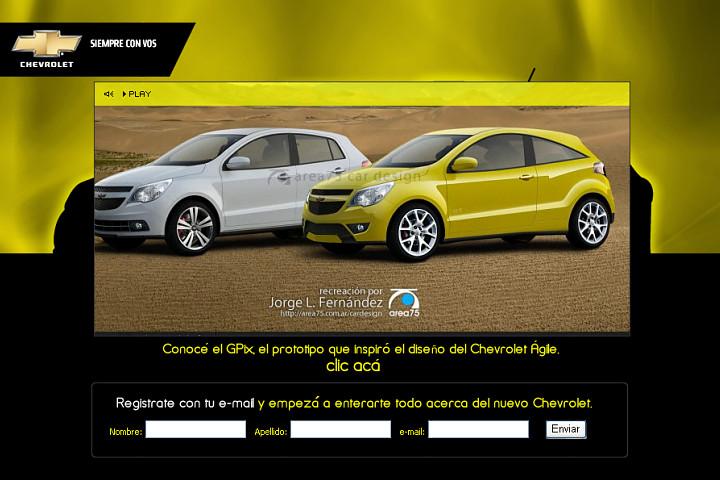 Chevrolet Agile 2015 foto - 3