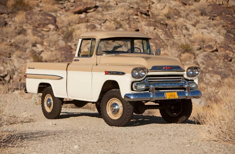 Chevrolet Apache 1953 foto - 5