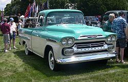 Chevrolet Apache 1955 foto - 3