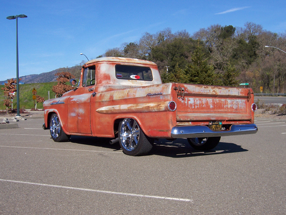 Chevrolet Apache 1958 foto - 3