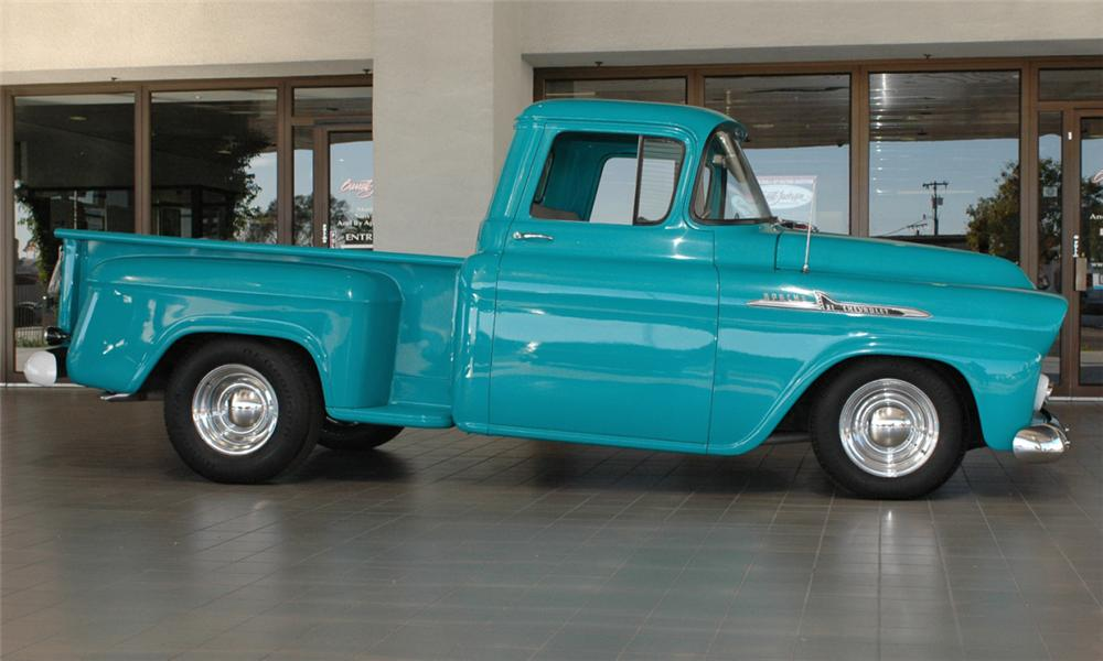 Chevrolet Apache 1958 foto - 5