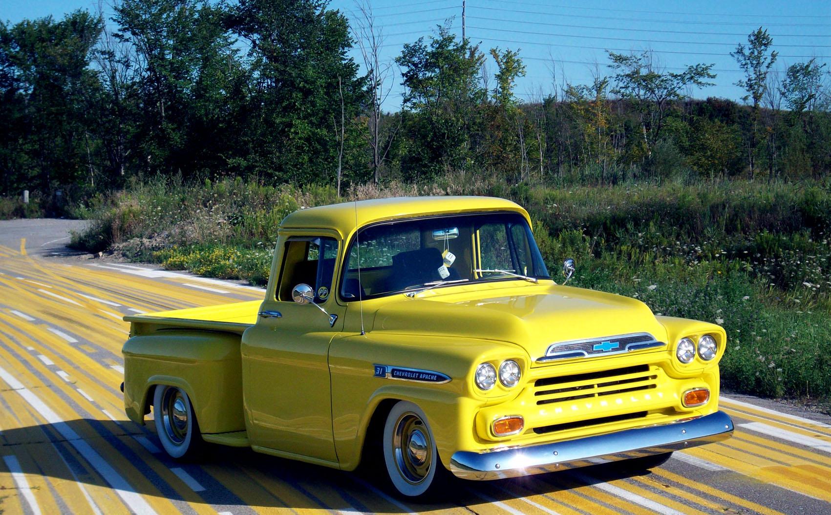 Chevrolet Apache 1959 foto - 2