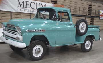 Chevrolet Apache 1965 foto - 1