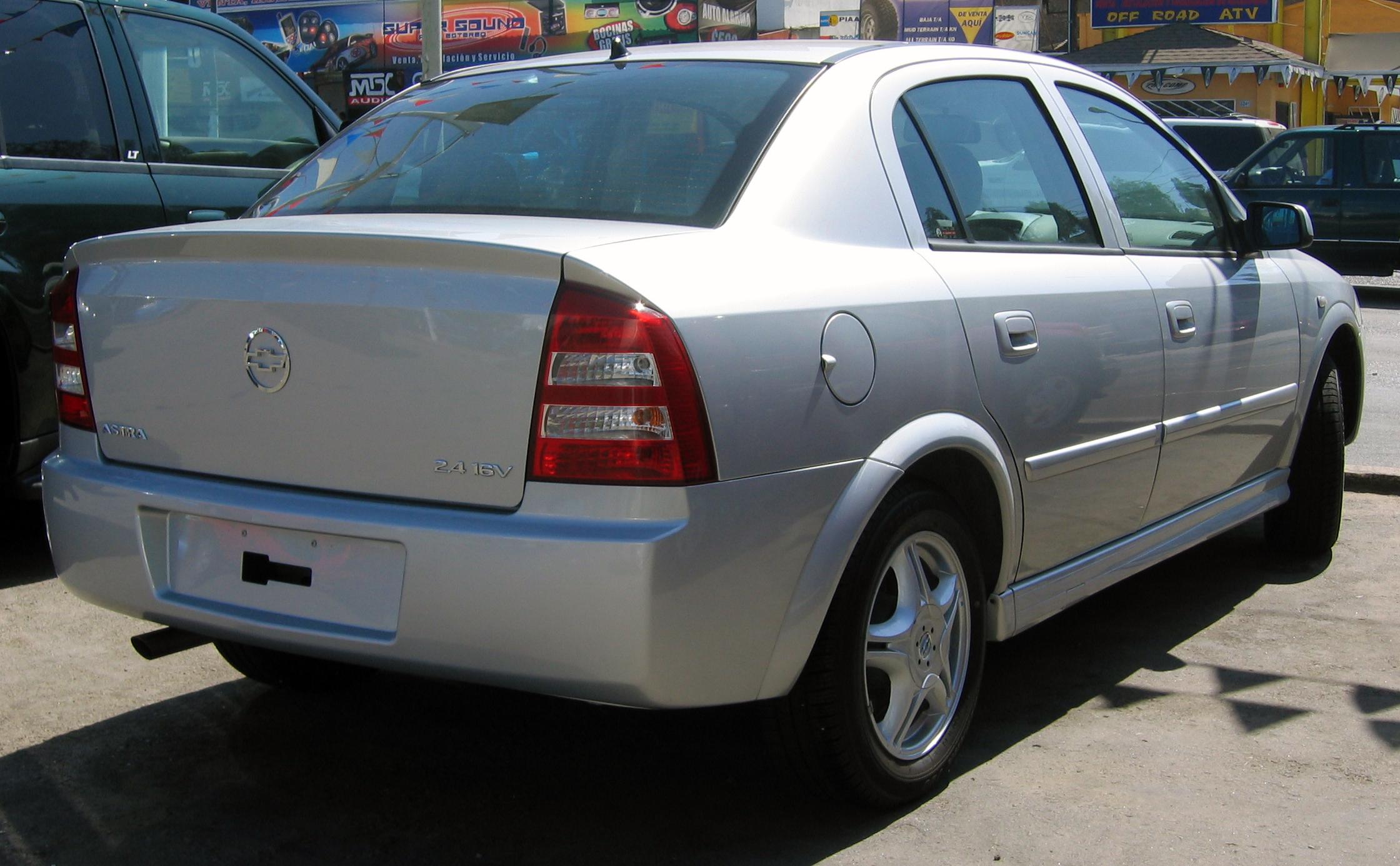 Chevrolet Astra 1999 foto - 4