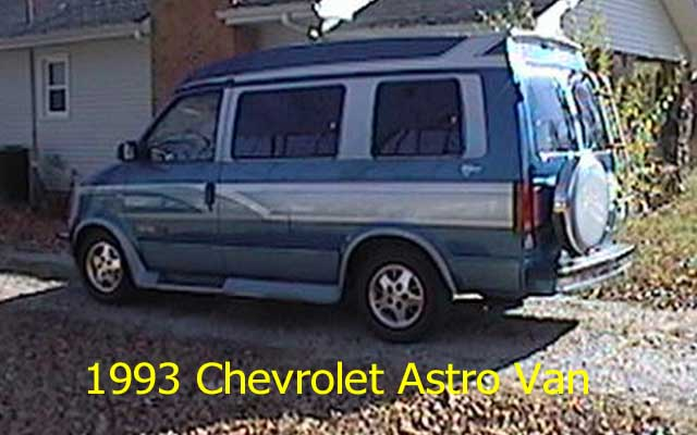 Chevrolet Astro 1993 foto - 4