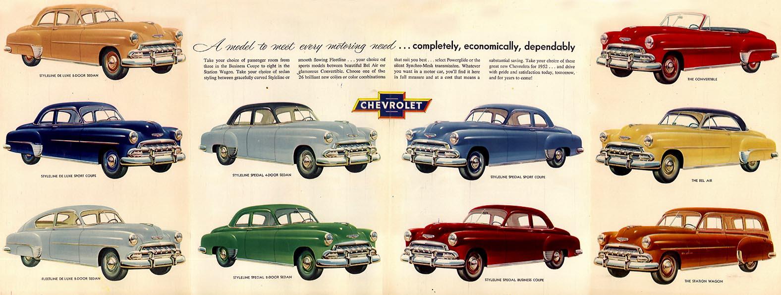 Chevrolet Bel air 1952 foto - 2