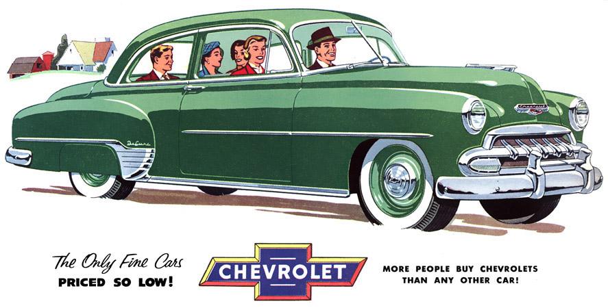 Chevrolet Bel air 1952 foto - 5