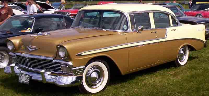 Chevrolet Bel air 1956 foto - 2