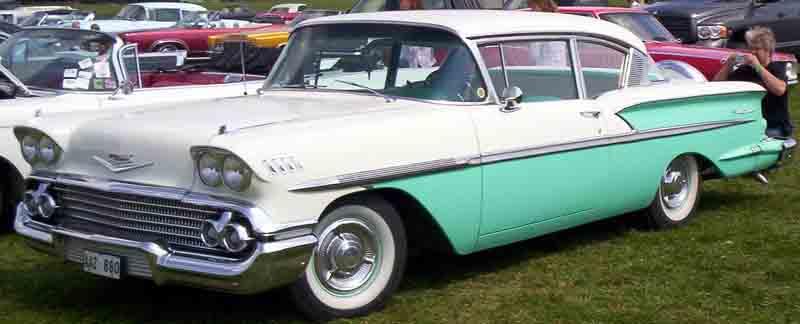 Chevrolet Bel air 1958 foto - 3