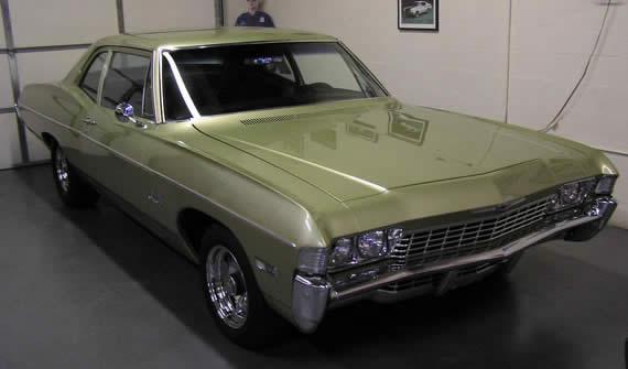 Chevrolet Bel air 1968 foto - 3