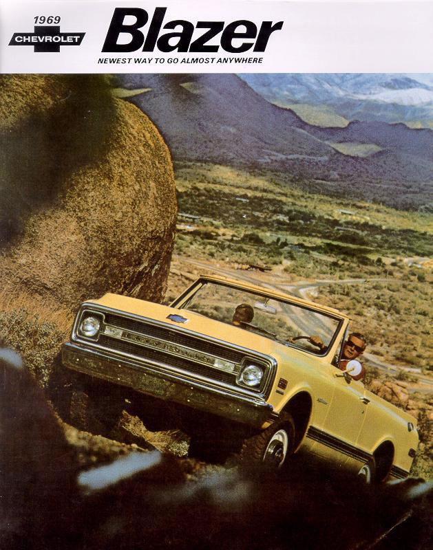 Chevrolet Blazer 1969 foto - 4