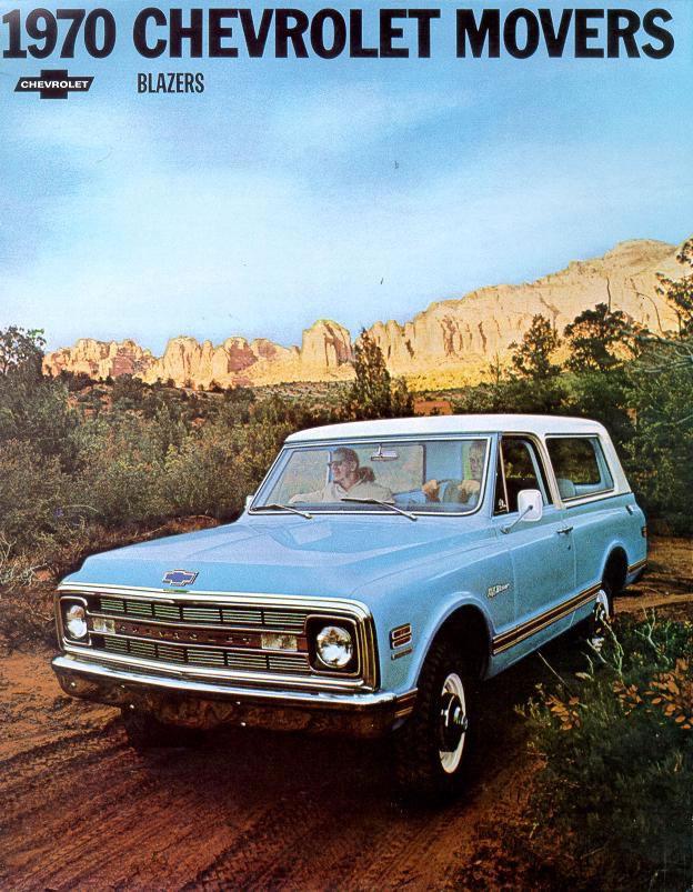 Chevrolet Blazer 1970 foto - 3