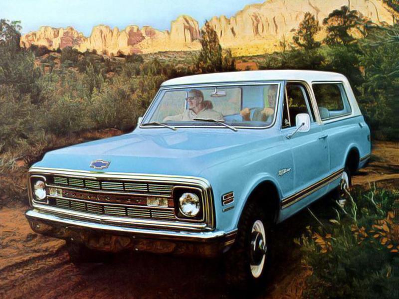 Chevrolet Blazer 1970 foto - 4