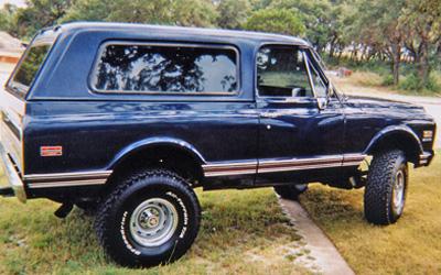 Chevrolet Blazer 1972 foto - 1