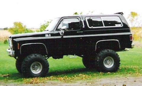 Chevrolet Blazer 1973 foto - 2