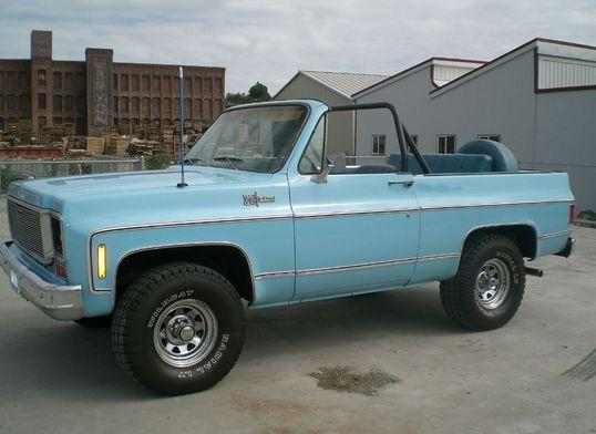 Chevrolet Blazer 1974 foto - 5