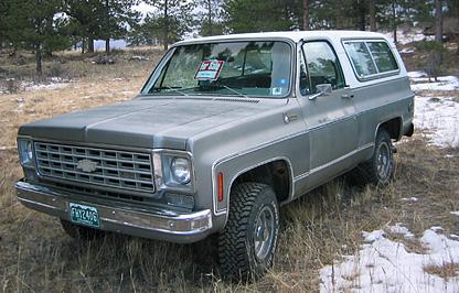 Chevrolet Blazer 1975 foto - 3
