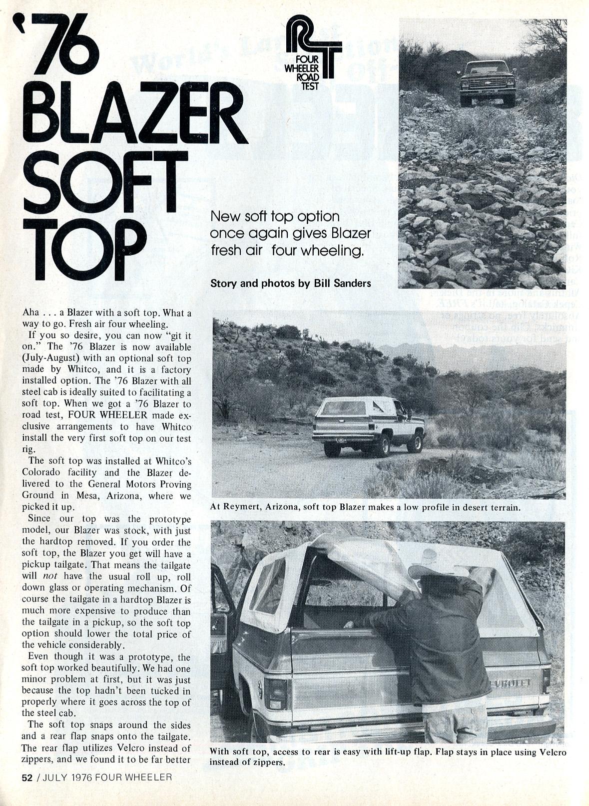 Chevrolet Blazer 1976 foto - 4