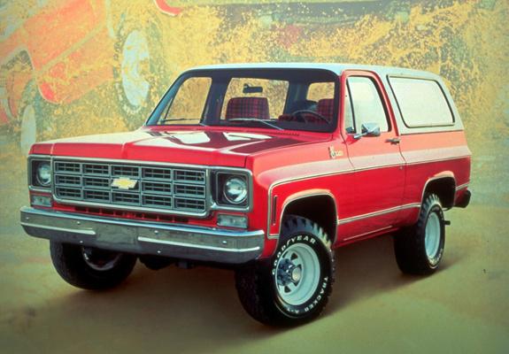 Chevrolet Blazer 1977 foto - 2