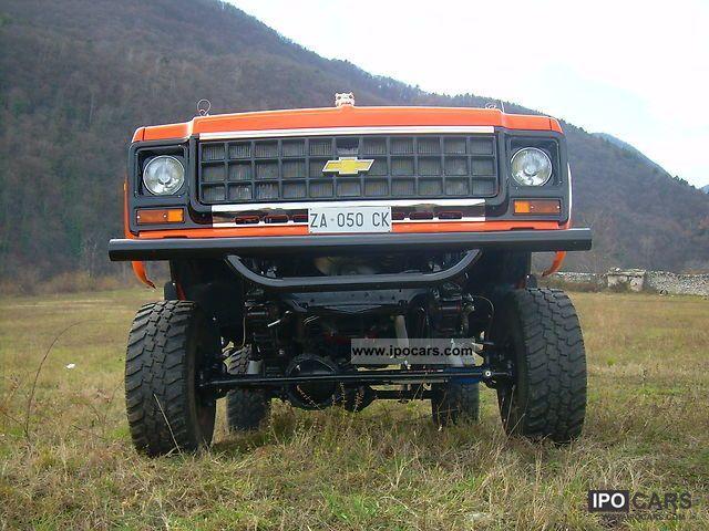 Chevrolet Blazer 1978 foto - 2