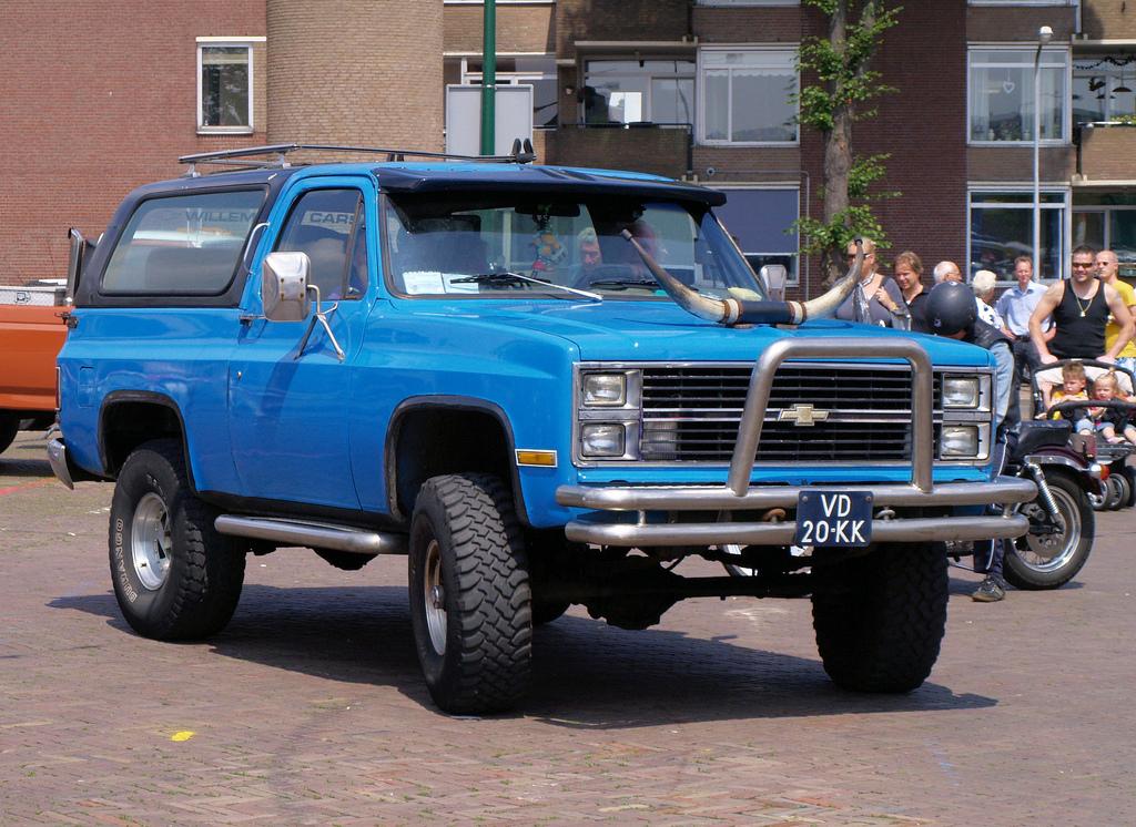 Chevrolet Blazer 1978 foto - 3