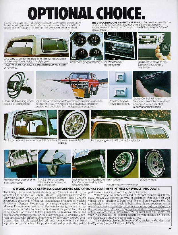 Chevrolet Blazer 1981 foto - 2