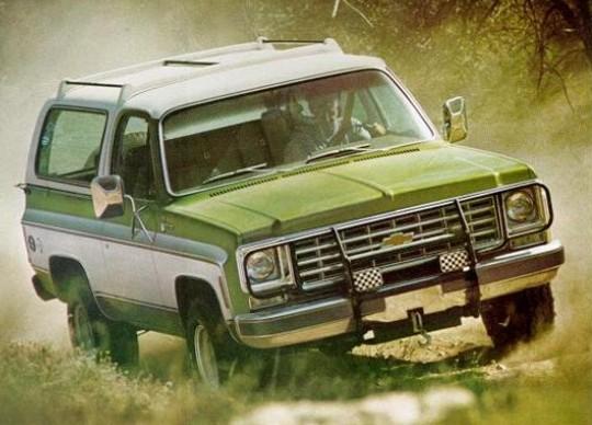 Chevrolet Blazer 1981 foto - 3