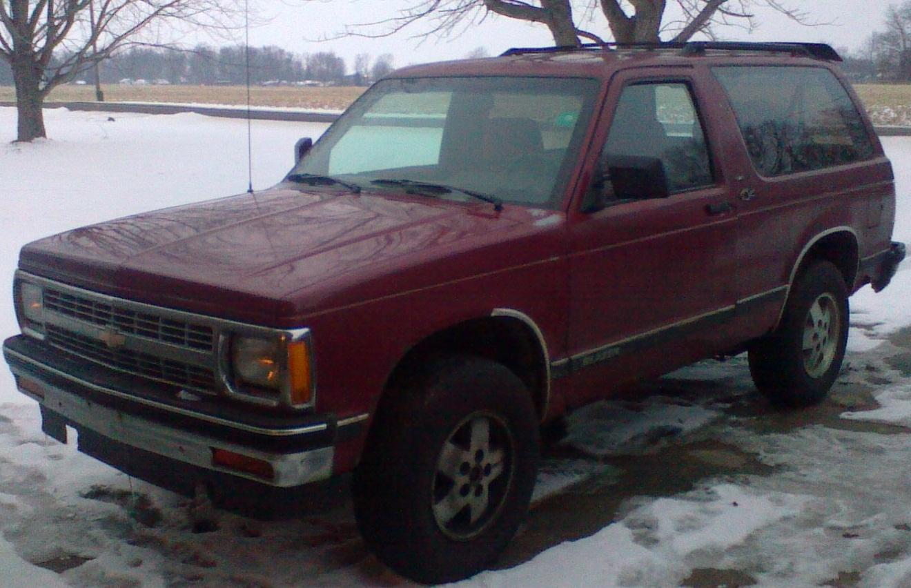 Chevrolet Blazer 1982 foto - 4
