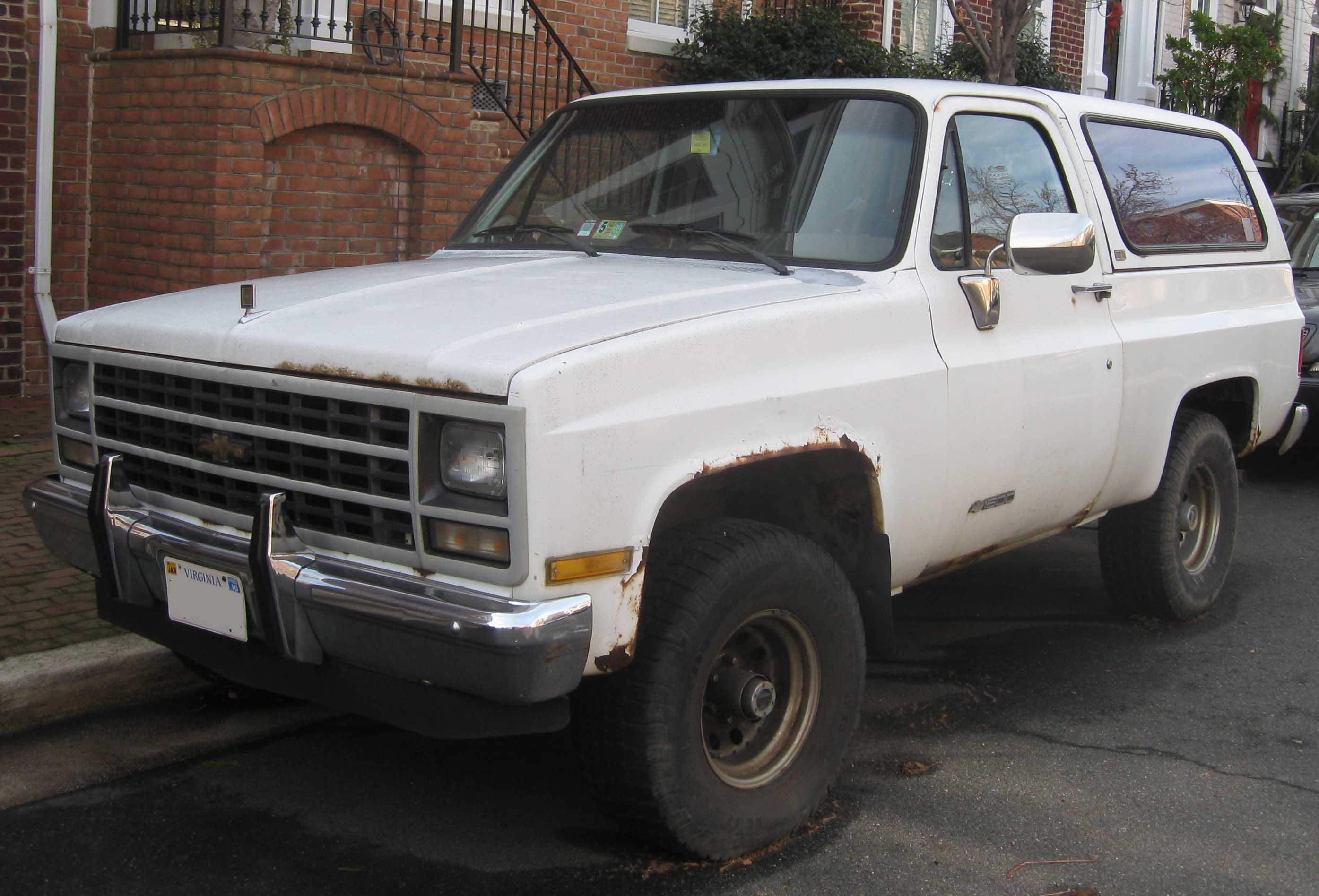 Chevrolet Blazer 1983 foto - 3