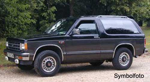 Chevrolet Blazer 1983 foto - 5